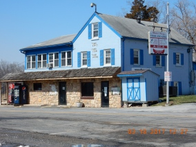 The Inn at White's Ferry ... note the flood levels, especially from Hurricane Agnes in 1972